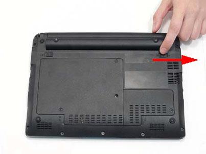 Как разобрать ноутбук Packard Bell dot s (3)