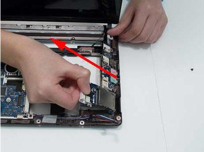 Как разобрать ноутбук Packard Bell dot s (77)