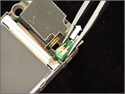 Как собрать телефон Sony Ericsson Z550i/Z550c/Z550a/Z558i/Z558c после замены деталей (43)