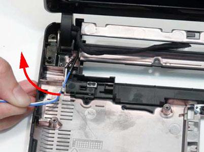 Как разобрать ноутбук Packard Bell dot s (88)