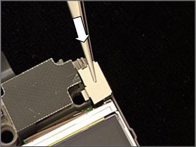 Как собрать телефон Sony Ericsson Z550i/Z550c/Z550a/Z558i/Z558c после замены деталей (47)