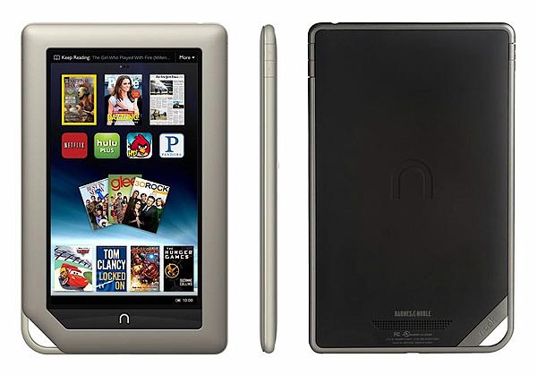 Как разобрать планшет Barnes & Noble Nook Tablet