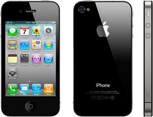 Как разобрать телефон iPhone 4 (1)