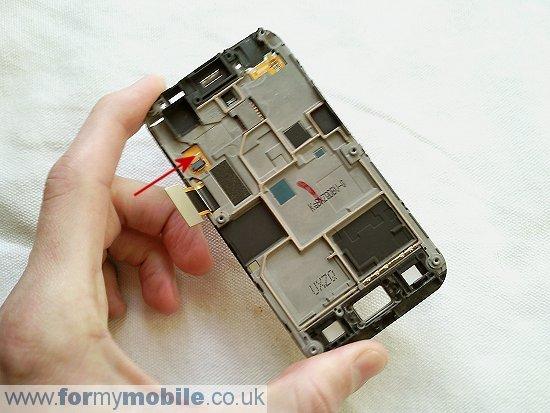 Как разобрать телефон Samsung Galaxy Ace S5830 (16)