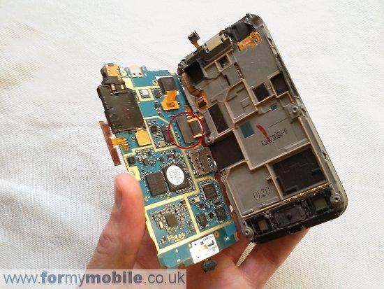 Как разобрать телефон Samsung Galaxy Ace S5830