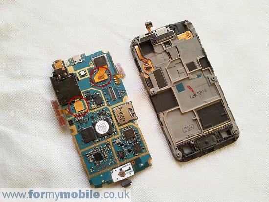 Как разобрать телефон Samsung Galaxy Ace S5830 (7)