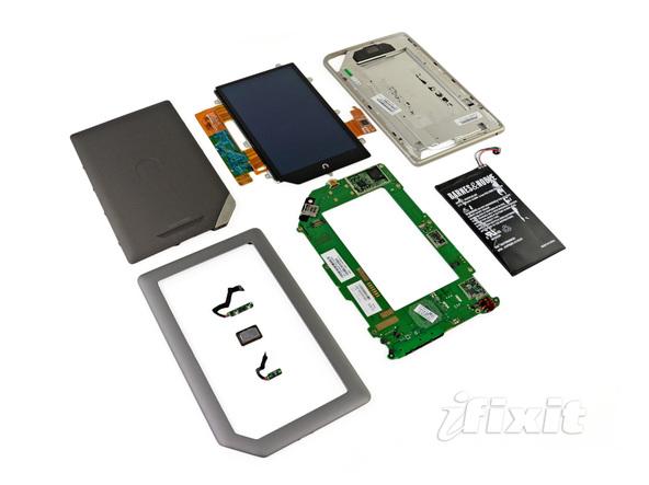 Как разобрать планшет Barnes & Noble NOOK Tablet (23)