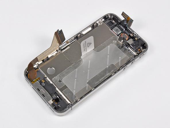 Как разобрать телефон iPhone 4 (33)