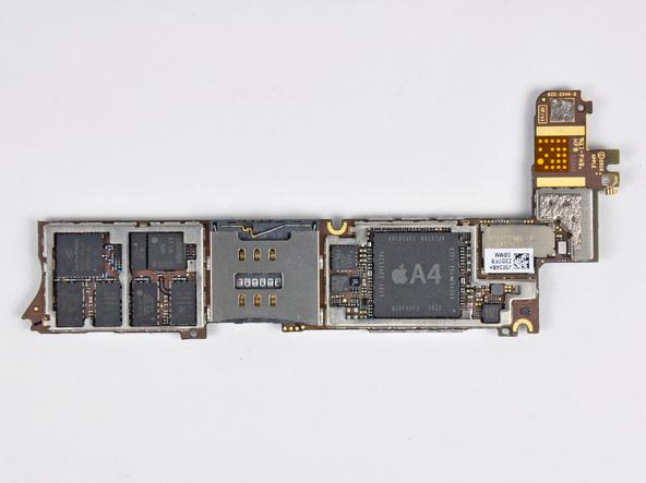 Как разобрать телефон iPhone 4 (34)