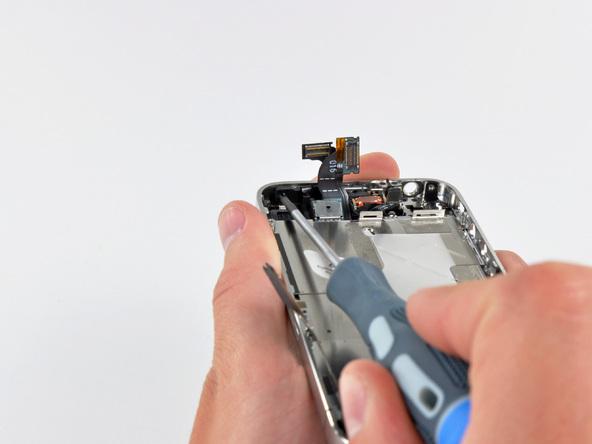 Как разобрать телефон iPhone 4 (39)
