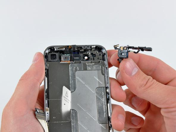Как разобрать телефон iPhone 4 (40)