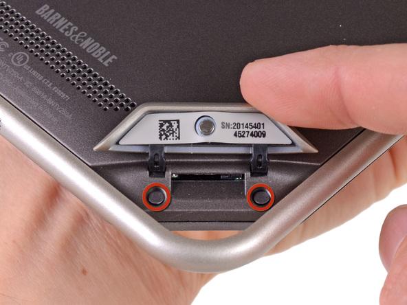 Как разобрать планшет Barnes & Noble NOOK Tablet (6)