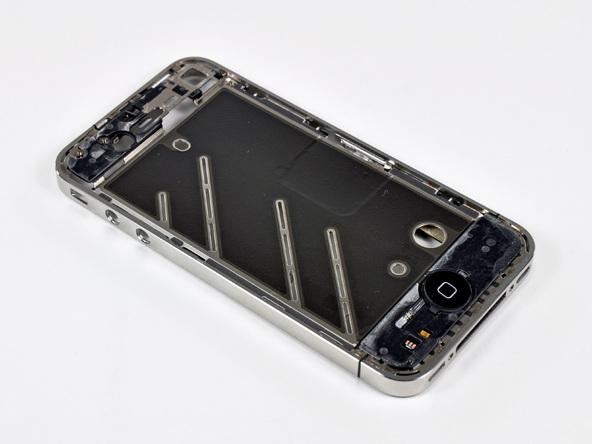 Как разобрать телефон iPhone 4 (44)