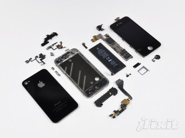 Как разобрать телефон iPhone 4 (54)