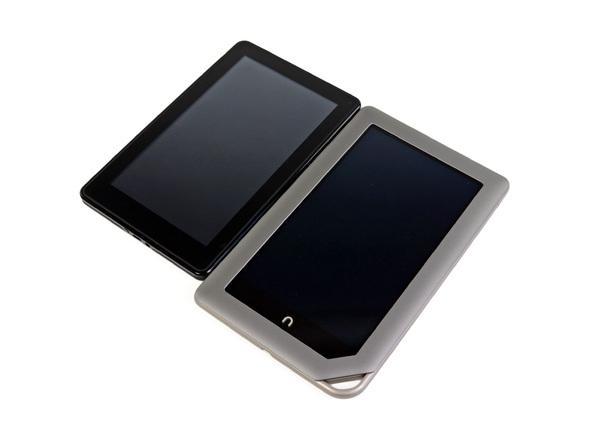 Как разобрать планшет Barnes & Noble NOOK Tablet (7)