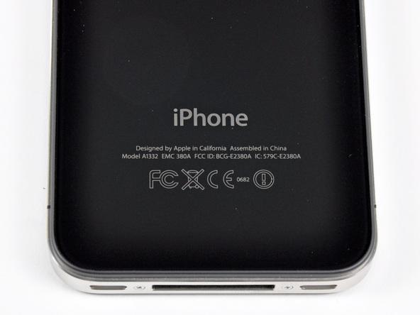 Как разобрать телефон iPhone 4 (5)
