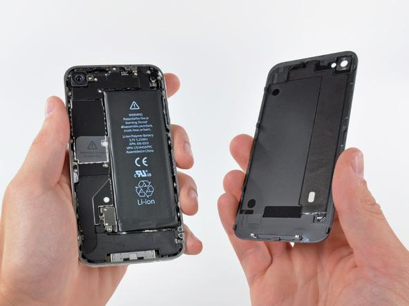 Как разобрать телефон iPhone 4 (9)