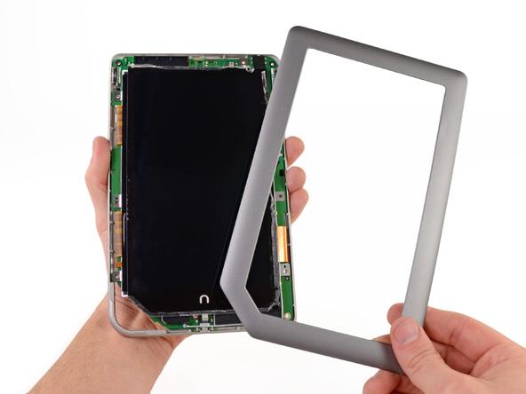 Как разобрать планшет Barnes & Noble NOOK Tablet (11)