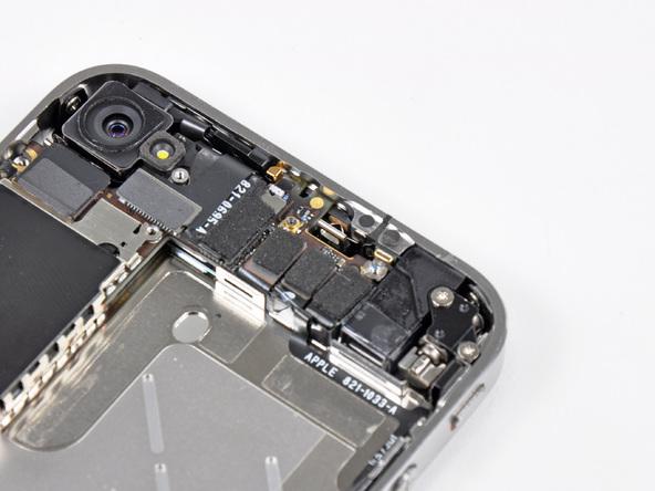 Как разобрать телефон iPhone 4 (17)