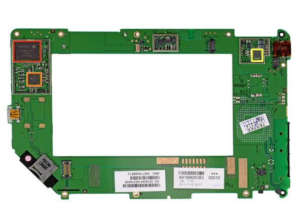 Как разобрать планшет Barnes & Noble NOOK Tablet (17)