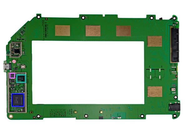 Как разобрать планшет Barnes & Noble NOOK Tablet (18)