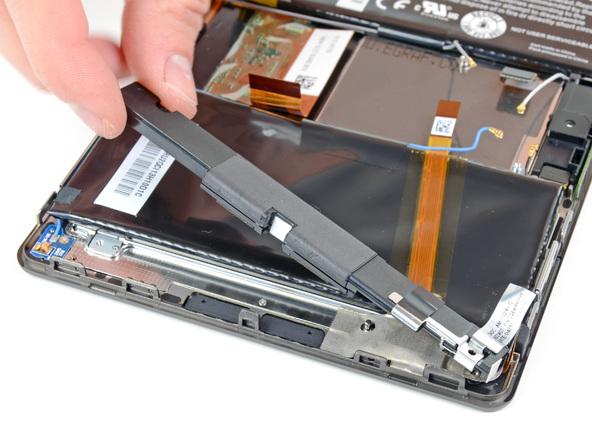 Как разобрать планшет BlackBerry PlayBook (18)