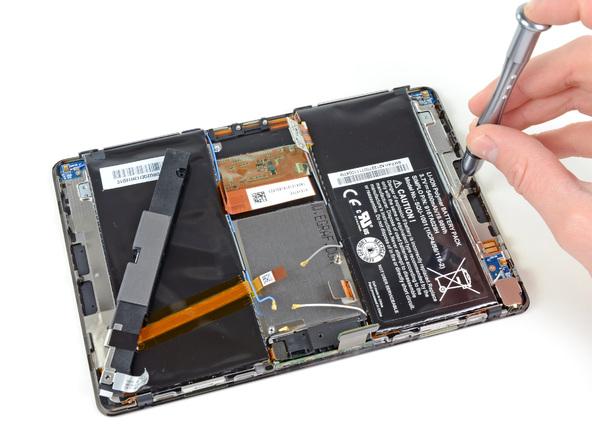 Как разобрать планшет BlackBerry PlayBook (19)