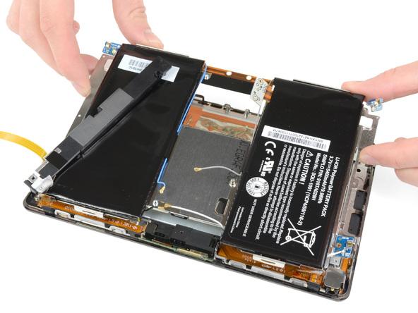 Как разобрать планшет BlackBerry PlayBook (20)