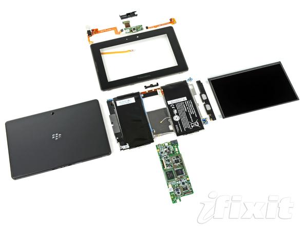 Как разобрать планшет BlackBerry PlayBook (34)