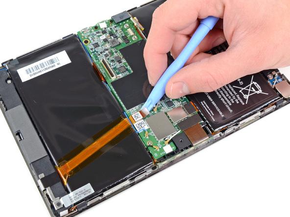 Как разобрать планшет BlackBerry PlayBook (11)