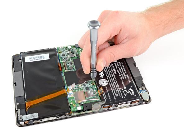 Как разобрать планшет BlackBerry PlayBook (12)