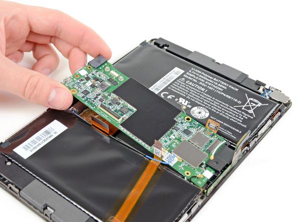 Как разобрать планшет BlackBerry PlayBook (13)