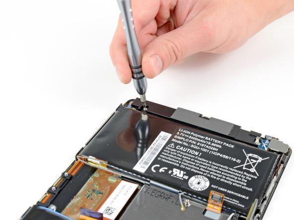 Как разобрать планшет BlackBerry PlayBook (16)