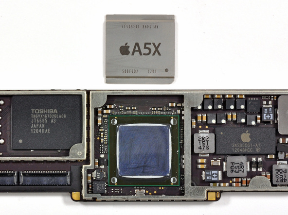 Как разобрать планшет Apple iPad 3 4G (37)