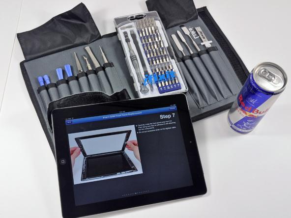 Как разобрать планшет Apple iPad 3 4G (3)