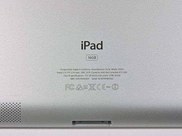 Как разобрать планшет Apple iPad 3 4G (4)