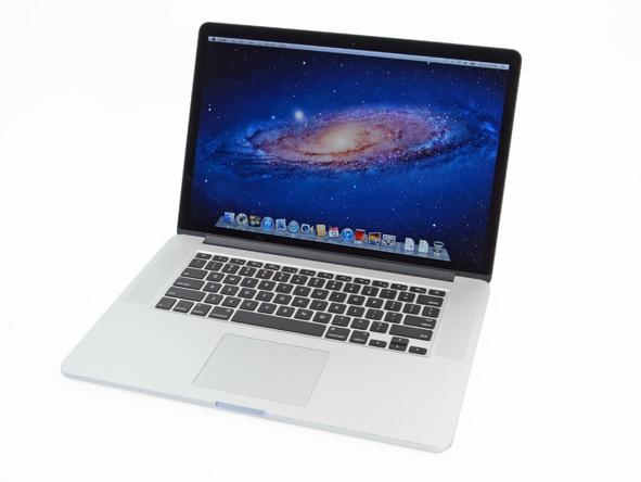 "Как разобрать ноутбук Apple MacBook Pro 15"" с дисплеем Retina (1)"