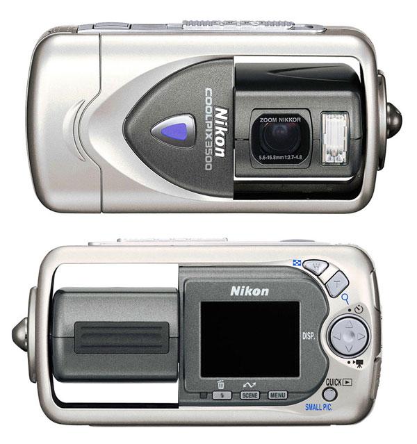 Как разобрать фотоаппарат Nikon Coolpix 3500 (1)