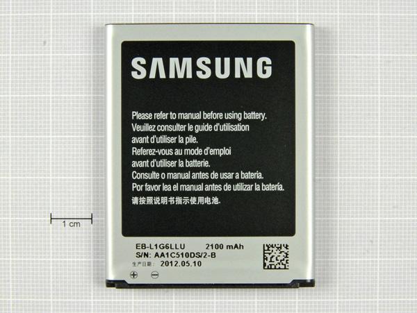 Как разобрать телефон Samsung Galaxy S III (8)