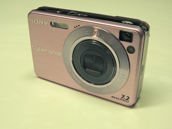 Как разобрать фотоаппарат Sony Cyber-Shot DSC-W120 (2)