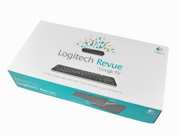 Как разобрать телевизионную приставку Logitech Revue (2)