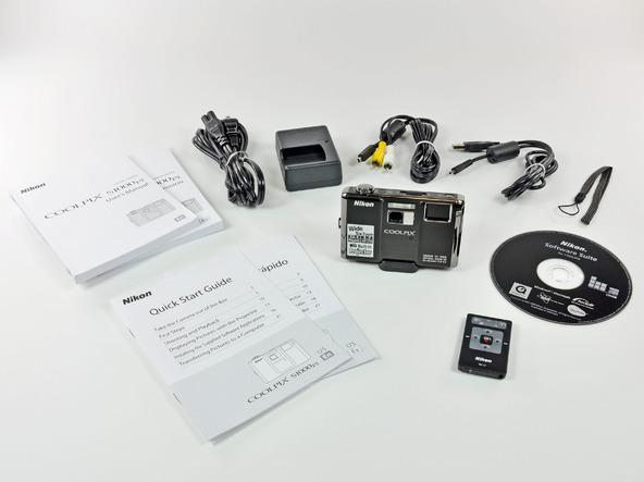 Как разобрать фотоаппарат Nikon Coolpix S1000pj (2)