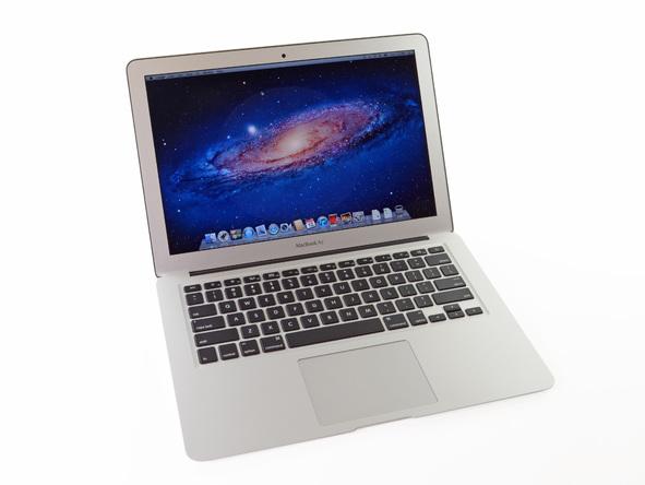 """Как разобрать ноутбук Apple MacBook Air 13"""" (2)"""