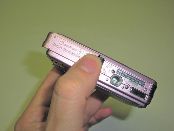 Как разобрать фотоаппарат Sony Cyber-Shot DSC-W120 (3)