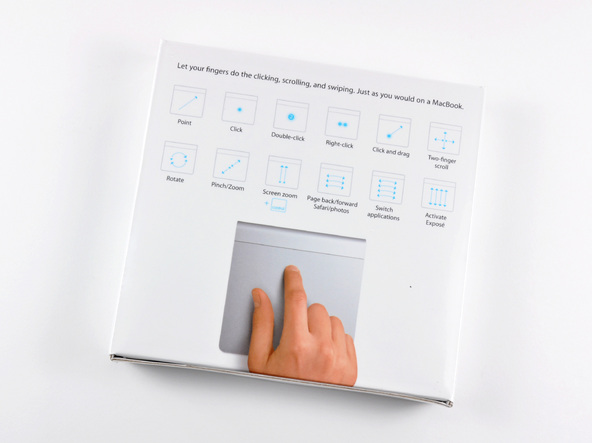 Как разобрать трекпад Apple Magic Trackpad (3)
