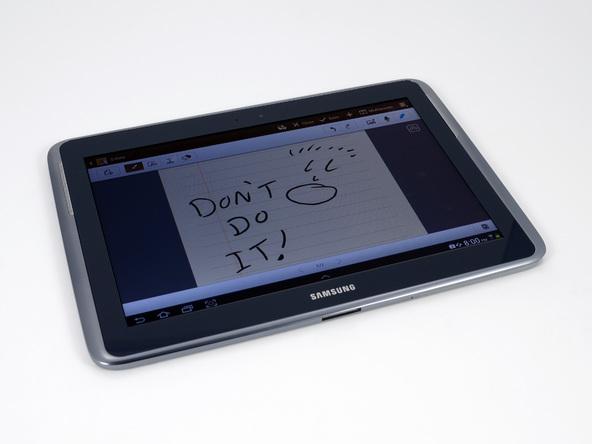 Как разобрать планшет Samsung Galaxy Note 10.1 (3)