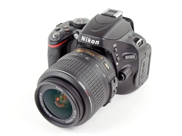 Как разобрать фотоаппарат Nikon D5100 (2)