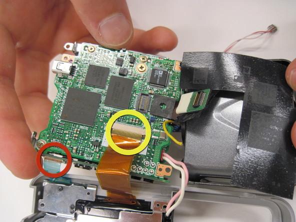 Как разобрать фотоаппарат Nikon Coolpix 3500 (14)