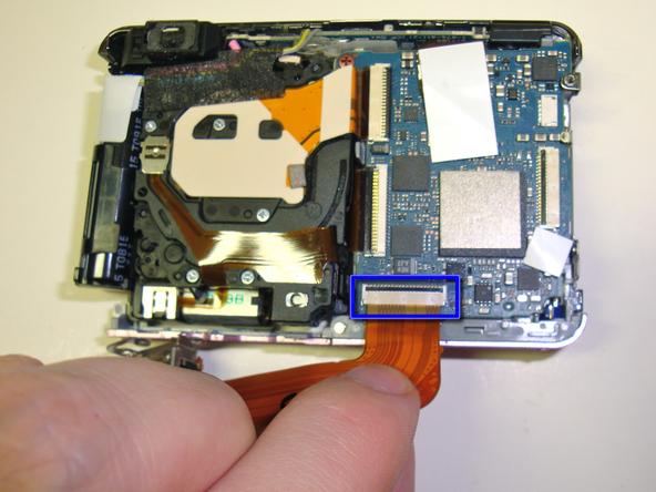 Как разобрать фотоаппарат Sony Cyber-Shot DSC-W120 (27)
