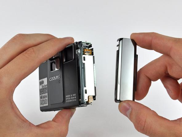 Как разобрать фотоаппарат Nikon Coolpix S1000pj (23)
